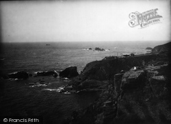 The Lizard, Point And Rocks 1939