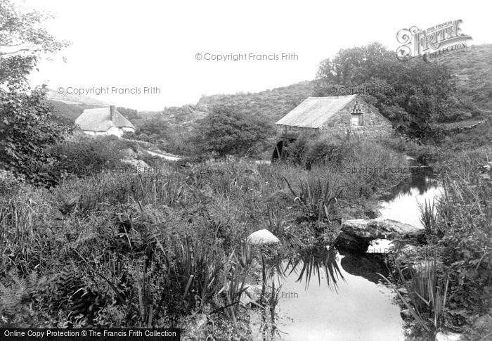 The Lizard,Portesco Old Mill 1911,Cornwall