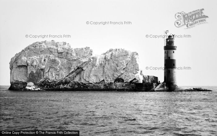 Photo of The Needles, The Lighthouse c.1955
