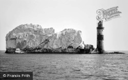 The Needles, the Lighthouse c1955