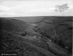 The Quantocks, Ramscombe 1929, Quantock Hills
