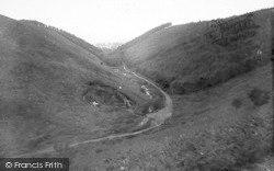 The Quantocks, Weacombe Combe 1929, Quantock Hills