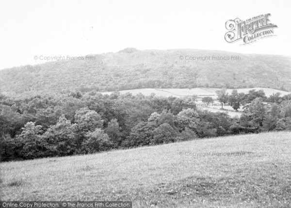 Photo of The Wrekin, And The Cuckoo Cup c.1955