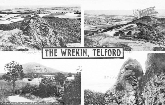 Photo of The Wrekin, Composite c.1955