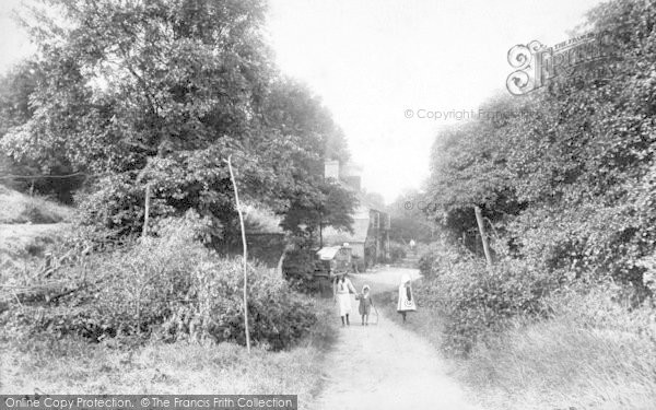 Photo of The Wrekin, Cottages 1907