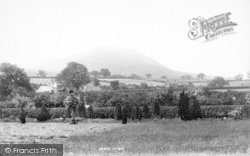 The Wrekin, From Cemetery 1895