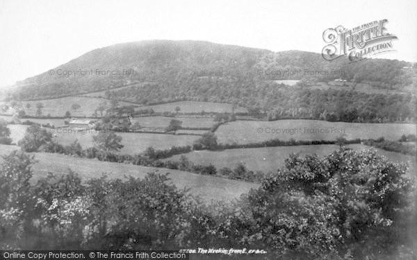 Photo of The Wrekin, From East 1901