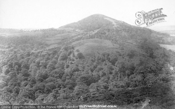 Photo of The Wrekin, From Ercall 1901