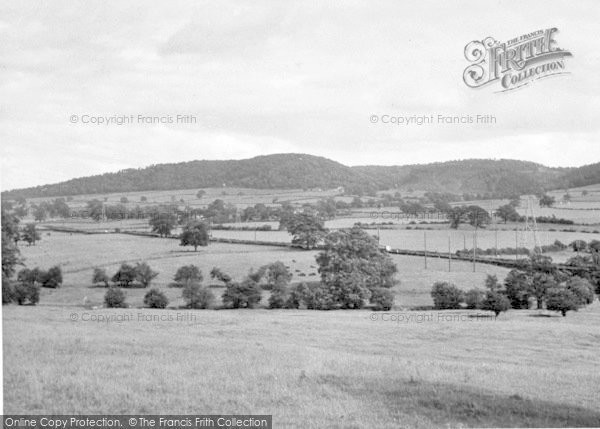 Photo of The Wrekin, Hills c.1955