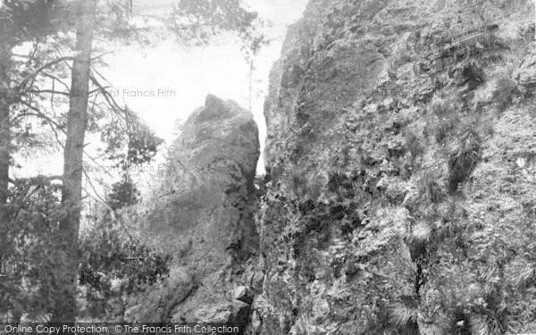 Photo of The Wrekin, Needle's Eye 1910
