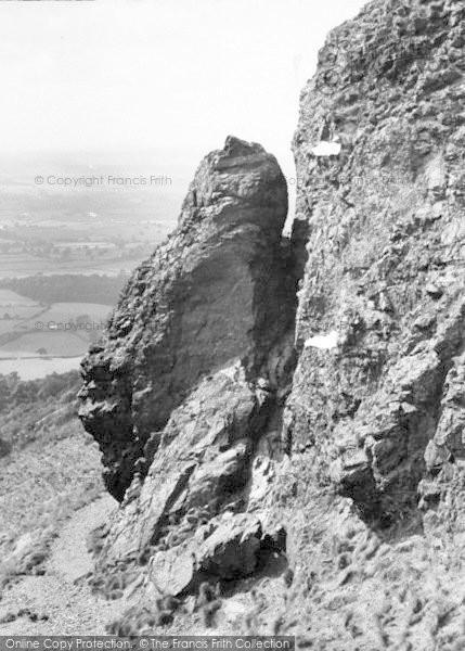 Photo of The Wrekin, Needle's Eye c.1960