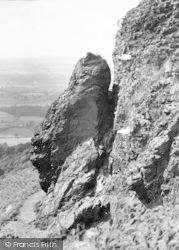 The Wrekin, Needle's Eye c.1960