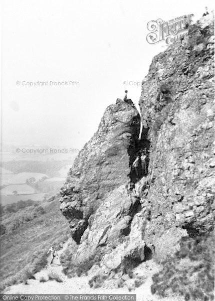 Photo of The Wrekin, Needle's Eye c.1965