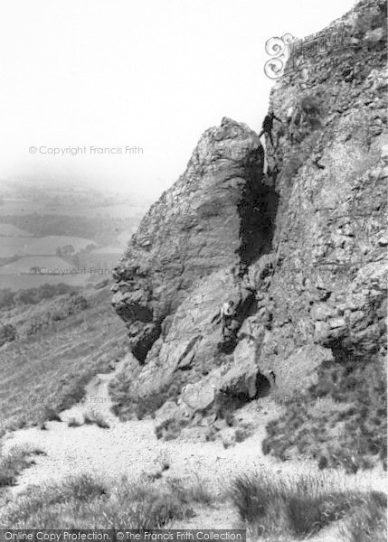 Photo of The Wrekin, Needle's Eye c.1965