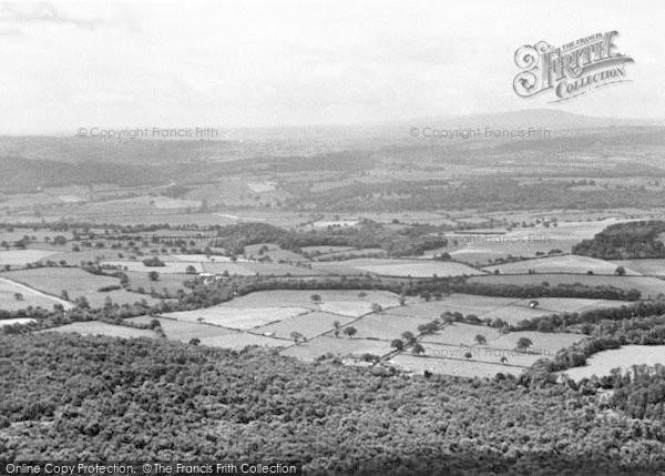 Photo of The Wrekin, Panoramic View Looking East c.1960