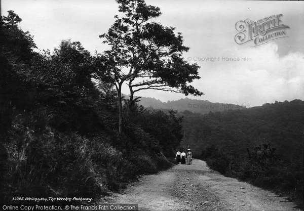 Photo of The Wrekin, Pathway 1910