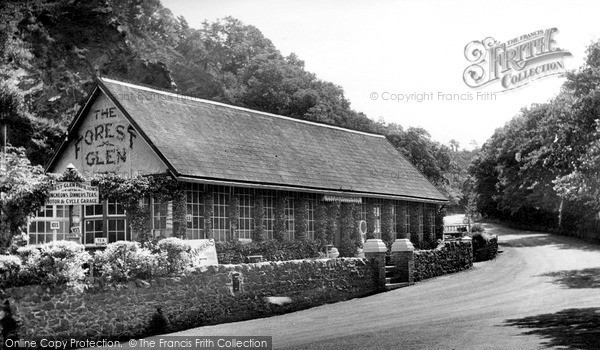 Photo of The Wrekin, The Forest Glen Pavilion c.1955