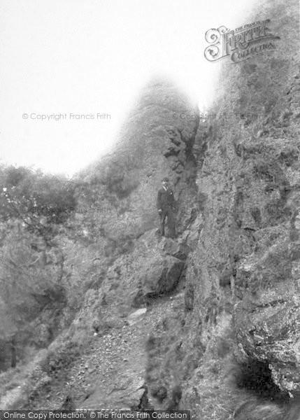 Photo of The Wrekin, The Needle's Eye 1895