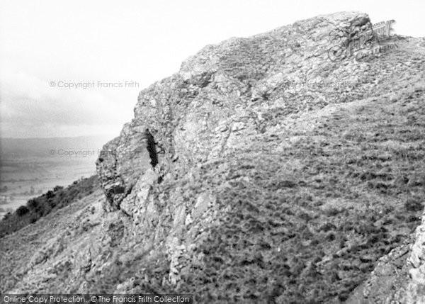 Photo of The Wrekin, The Needle's Eye c.1955