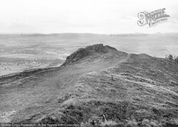 Photo of The Wrekin, The Needle's Eye c.1960