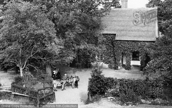 Photo of The Wrekin, Wrekin Cottage 1895
