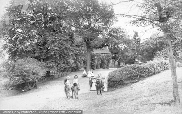 Photo of The Wrekin, Wrekin Cottage 1907