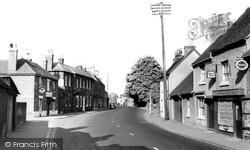 High Street c.1955, Theale