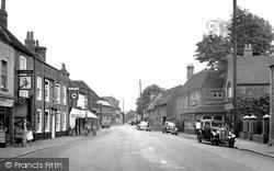 Theale, High Street c.1955