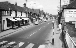 Theale, High Street c.1965