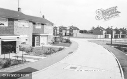 Theale, Meadow Way c.1965