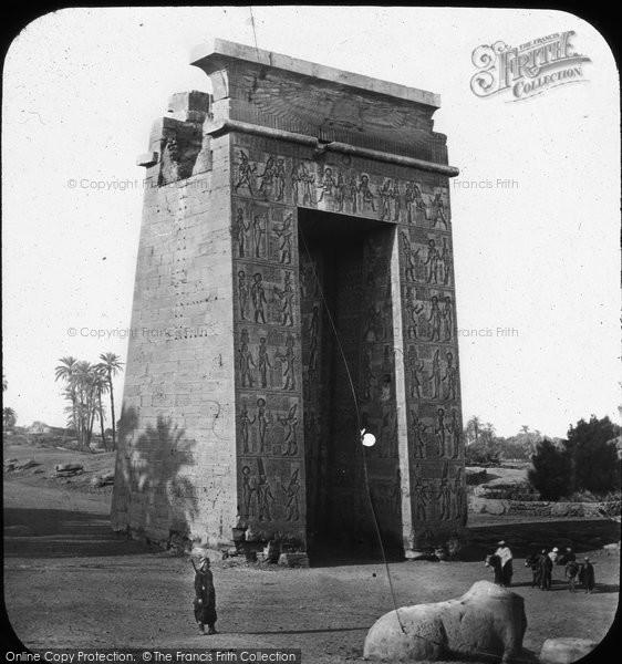 Photo of Thebes, Great Gateway, Karnak c.1868