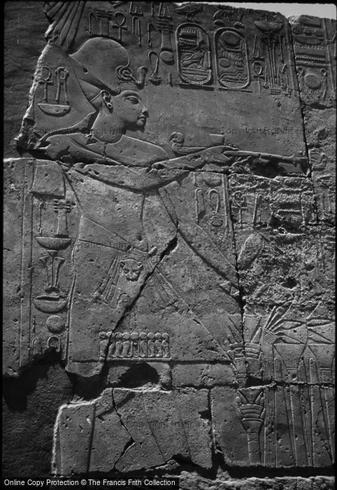 Photo of Thebes, Luxor Temple, Image Of Horemheb 2004
