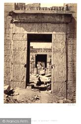 Pylon Gateway At Medinet-Haboo  1860, Thebes