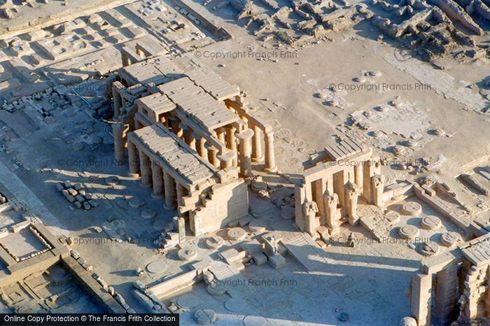 Photo of Thebes, Rameseum From The Air 2004