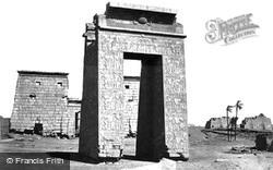Thebes, Sculptured Gateway, Karnak 1857