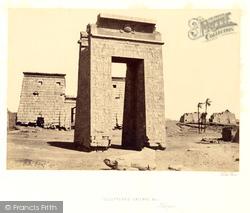 Sculptured Gateway, Karnak 1857, Thebes