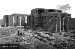Thebes, The Rameseum 1860