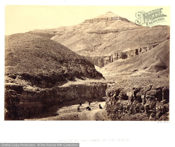 Photo of Thebes, Valley Of The Tombs Of The Kings 1857
