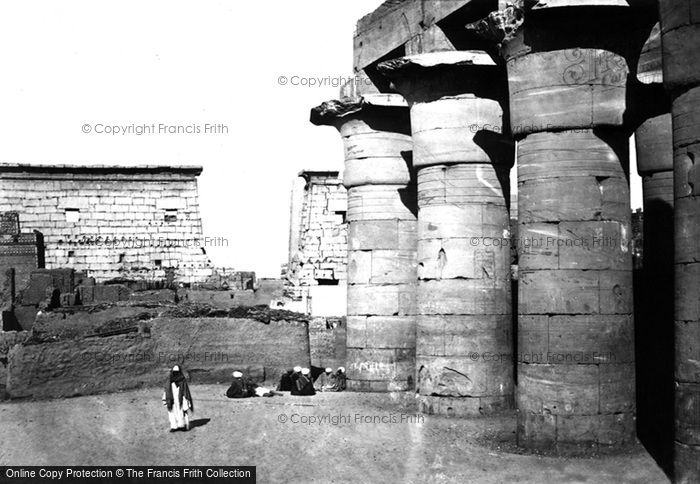 Photo of Thebes, View At Luxor 1857