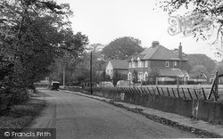 Thelwall, Bell Lane c.1955