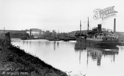 Thelwall, The Canal c.1955