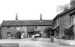 Thelwall, The Post Office c.1955