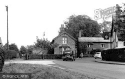 Thelwall, The Village c.1955