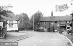 Thelwall, Village Post Office c.1965