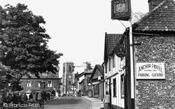 Bridge Street c.1955, Thetford