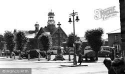 Market Place c.1955, Thetford