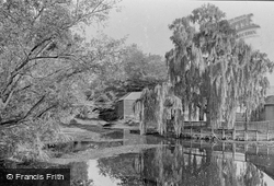River From Mill Head 1921, Thetford