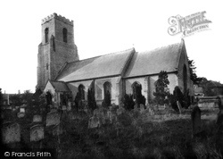 St Mary's Church 1921, Thetford