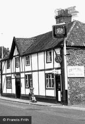 The Anchor Hotel, Bridge Street c.1955, Thetford
