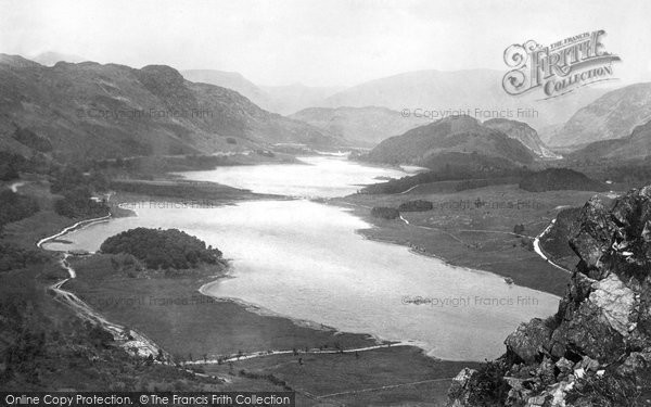 Photo of Thirlmere, From Steel Fell 1892